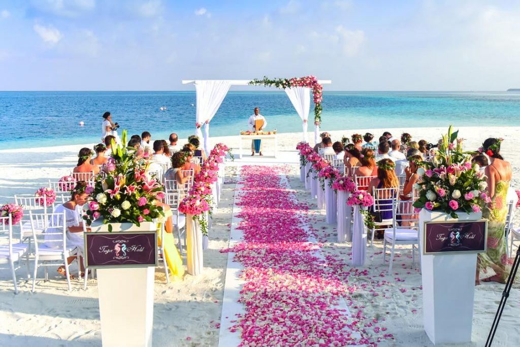 wedding planning tropical photo